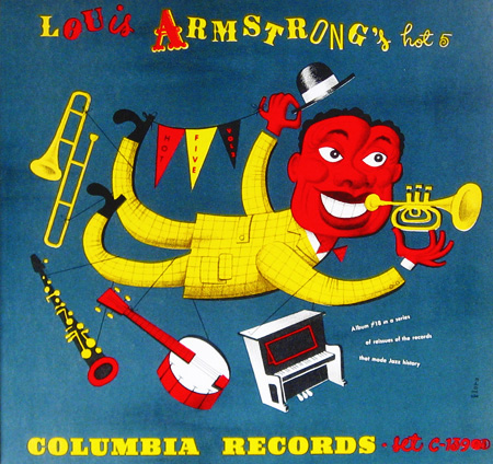 Louis Armstrong, 78 rpm album Columbia