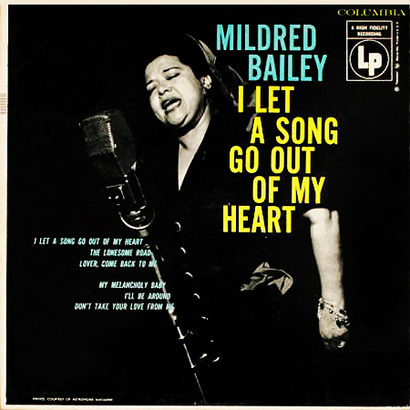 Mildred Bailey. Columbia 2553
