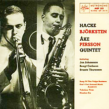 Hacke Bjorksten and Ake Persson, Metronome MEP 353