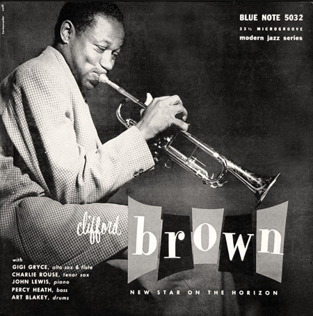 Clifford Brown Album Clifford Brown Quartet Blue