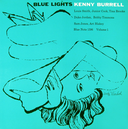Kenny Burrell, Blue Note 1596, Andy Warhol