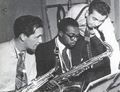 Arne Domnerus and James Moody, photo