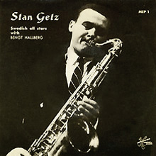 Stan Getz, Metronome, MEP 1 (new cover)