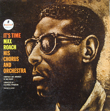 Max Roach - It's Time album cover